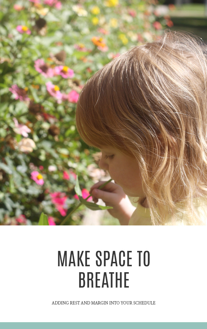 How to make space to breathe in your schedule