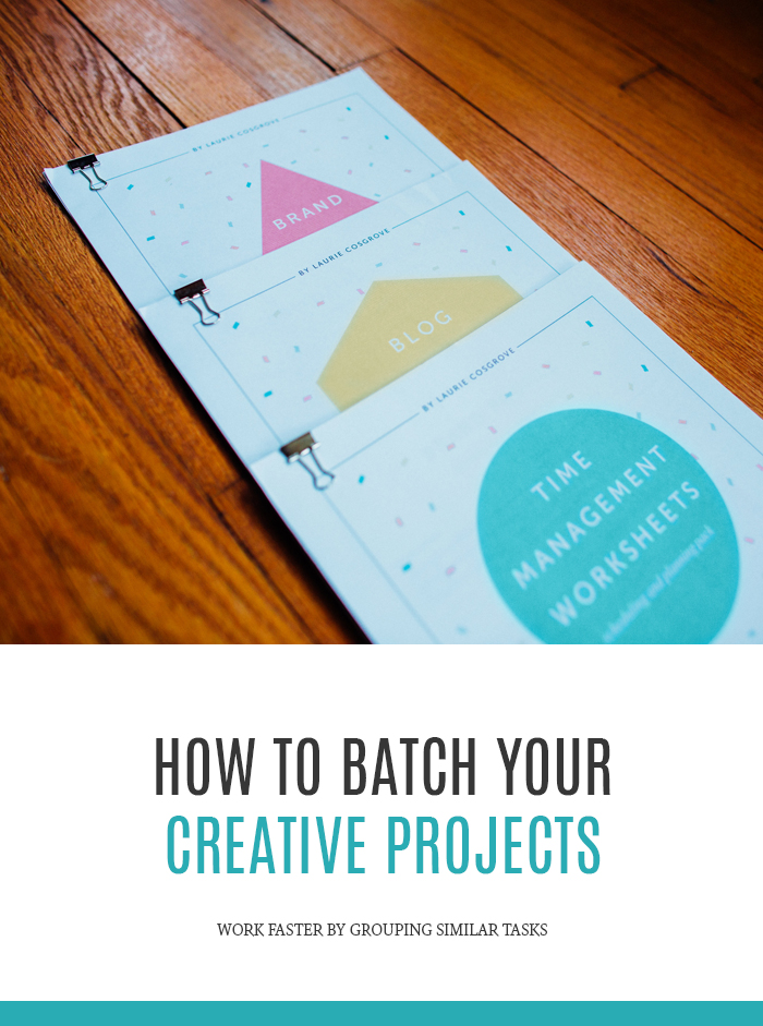 How to Batch Process Your Creative Projects