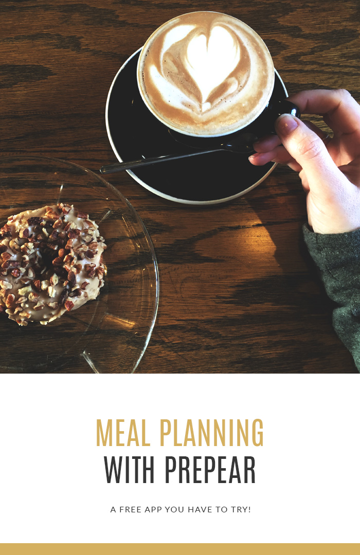 Meal Planning With Prepear