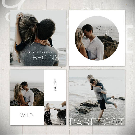 Wildflower Instagram Templates