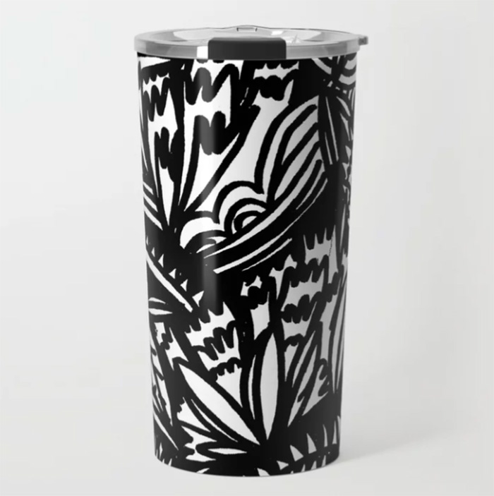 Travel Mug by WInship & Rose on Society 6 - Gift Ideas for Creatives
