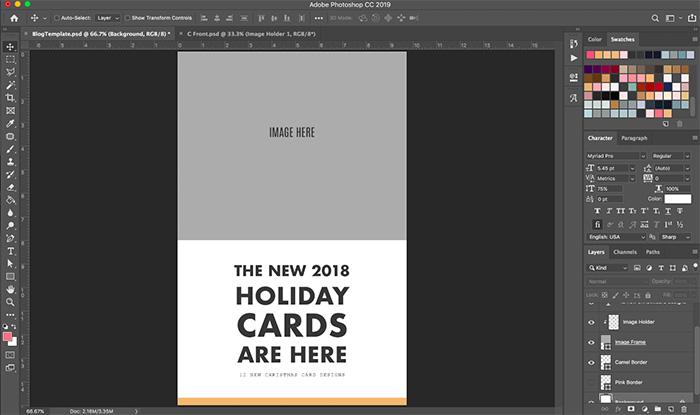 Using blog templates