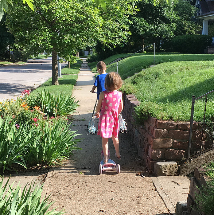 July Goals | Summer Walk With Littles
