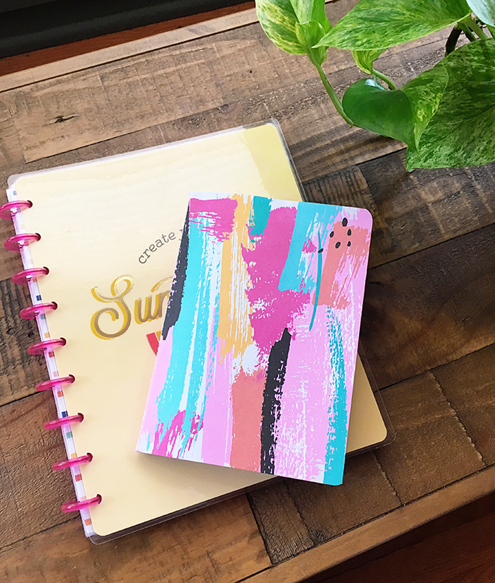 July Goals & Finds | The Happy Planner Sunshine Notebook