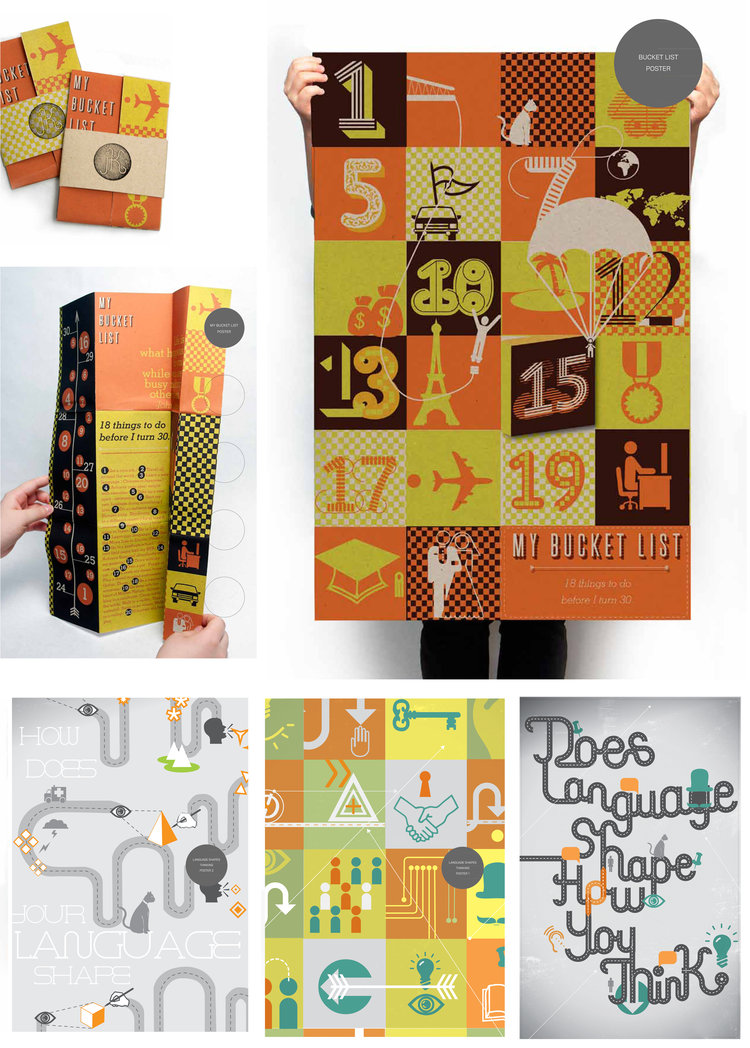 """SENIOR THESIS PORTFOLIO: TYPOGRAPHY CONCEPT   Typography concept senior thesis portfolio by    Jin Suk Kim   . Jin Suk asks """"Does Language Shape How You Think?"""" She answered the question by creating her own language."""