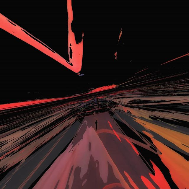Late night drives #10thdimension #highway #art #trip #motion #red