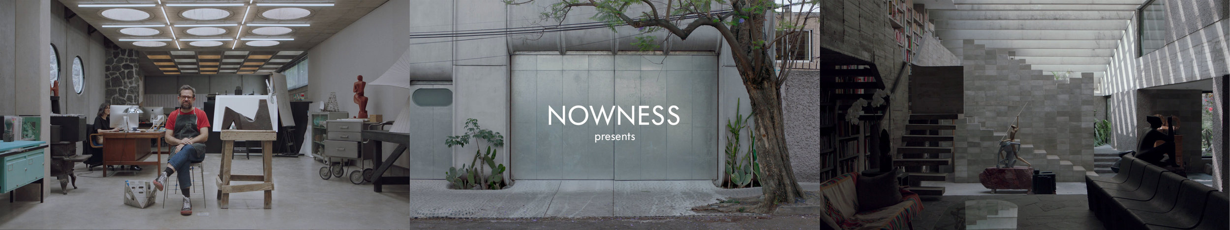Short Film  Nowness: In Residence w/ Pedro Reyes and Carla Fernandez
