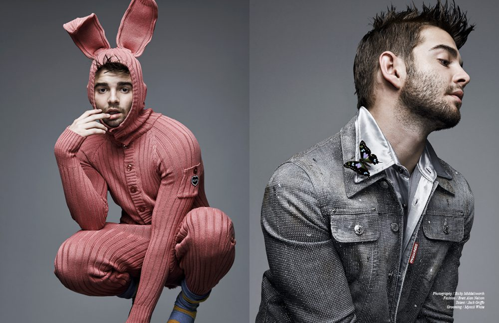 Words / Landra Dulin   This Schön online exclusive was produced by  Photography / Ricky Middlesworth  Fashion / Brett Alan Nelson  Talent / Jack Griffo  Grooming / Mynxii White