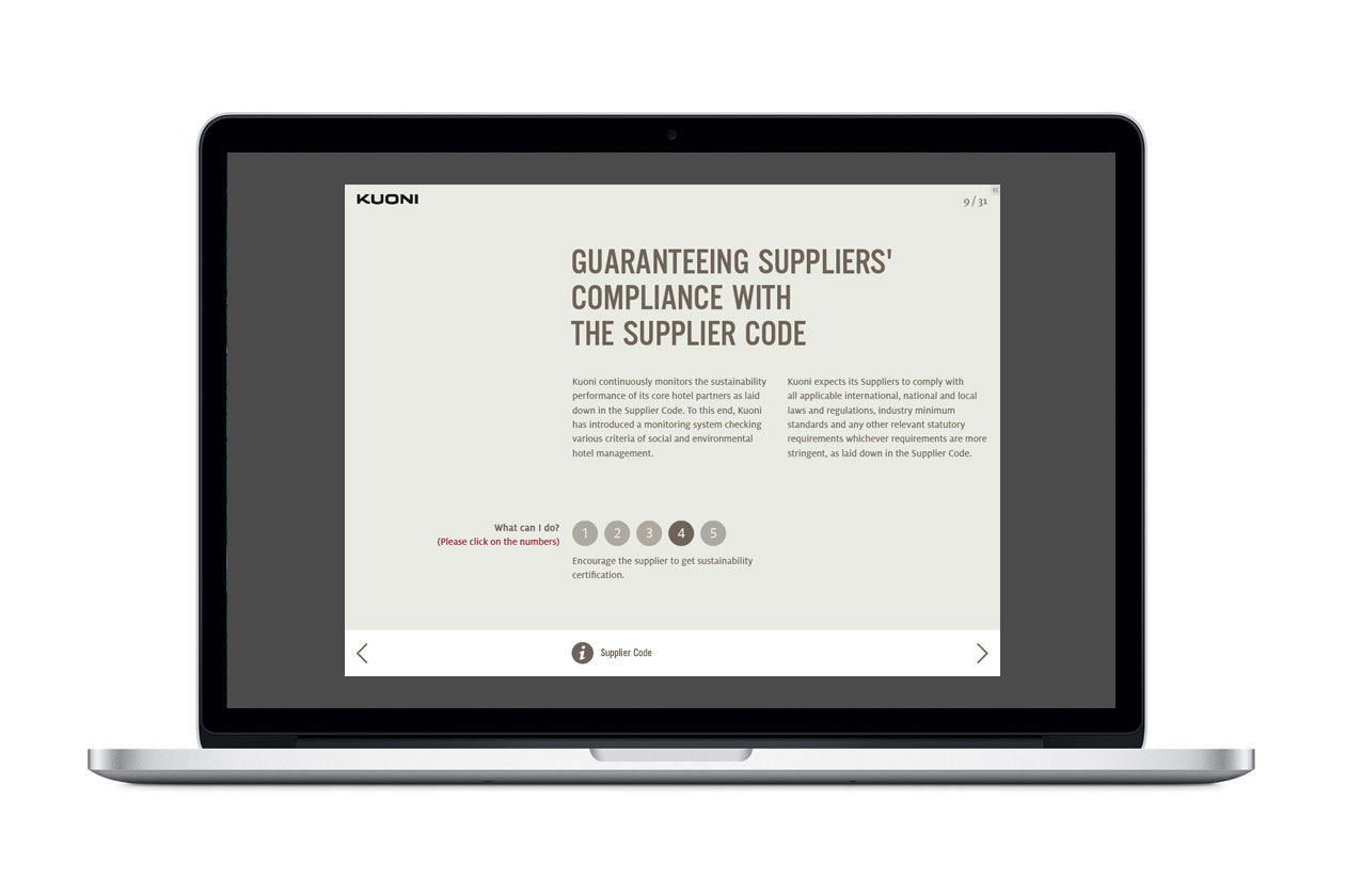 Supplier Code of Conduct E-Learning. Compliance.