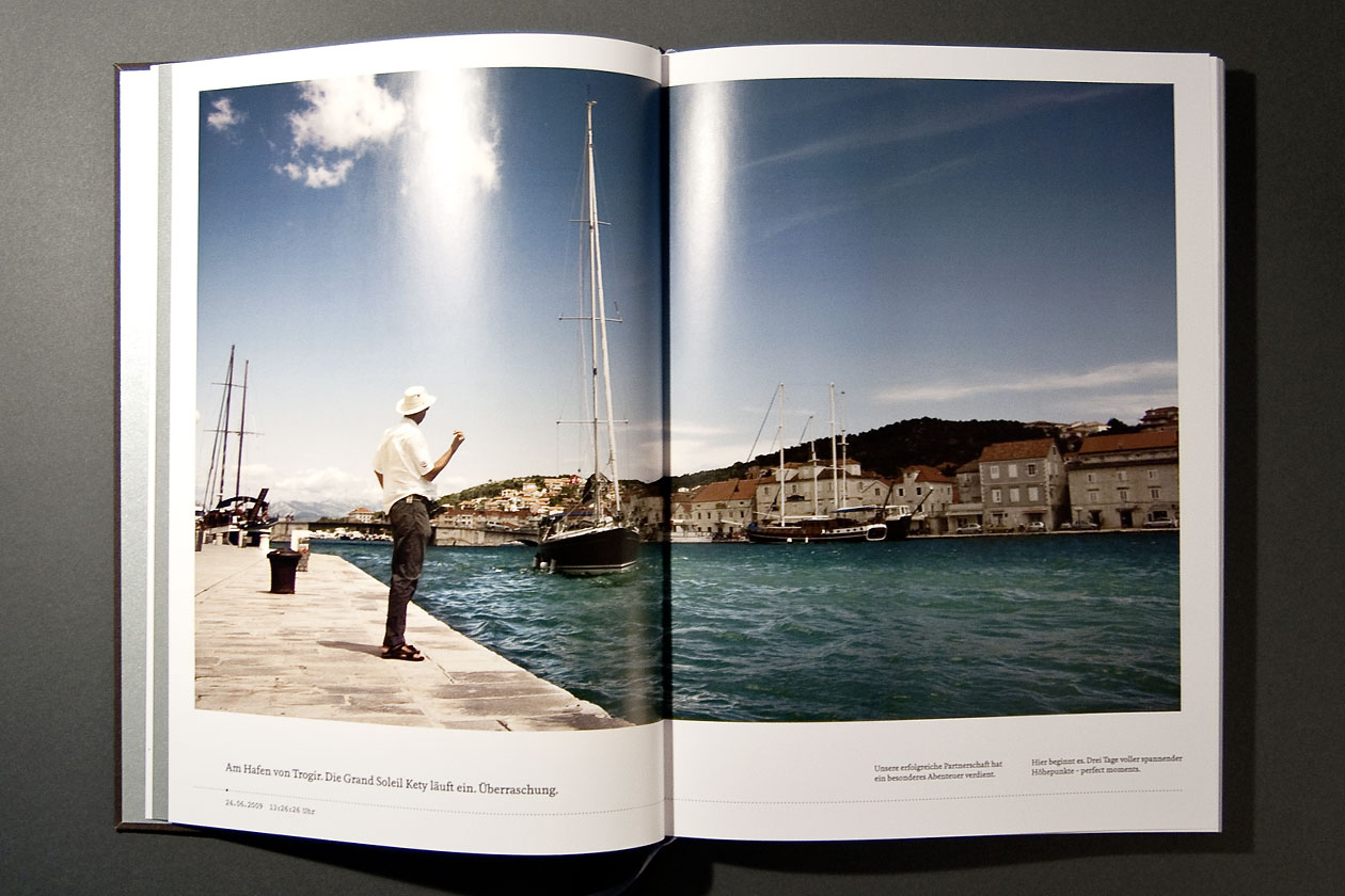 Top 50 Book. Enter Port Trogir.