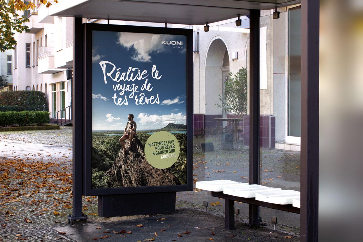 Reise deinen Traum – Campaign. Billboard.