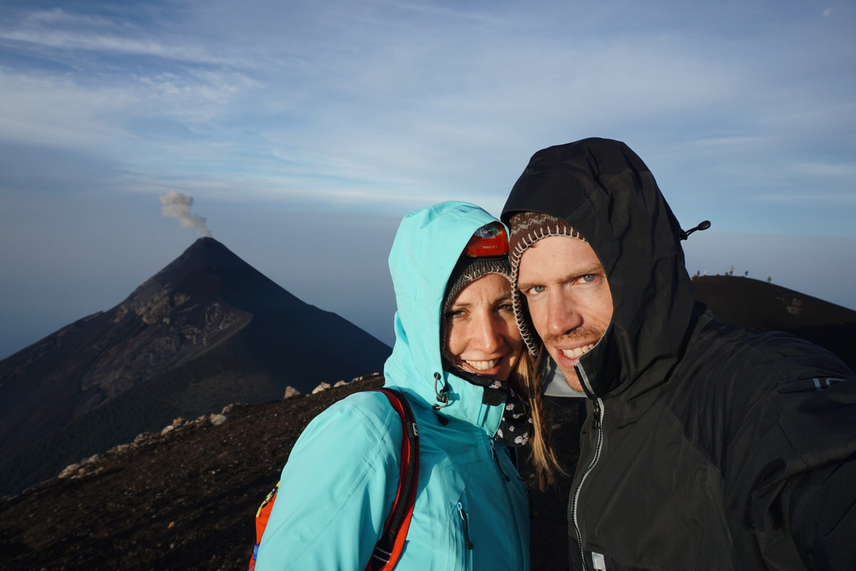 Geschafft! Das Gipfelfoto.