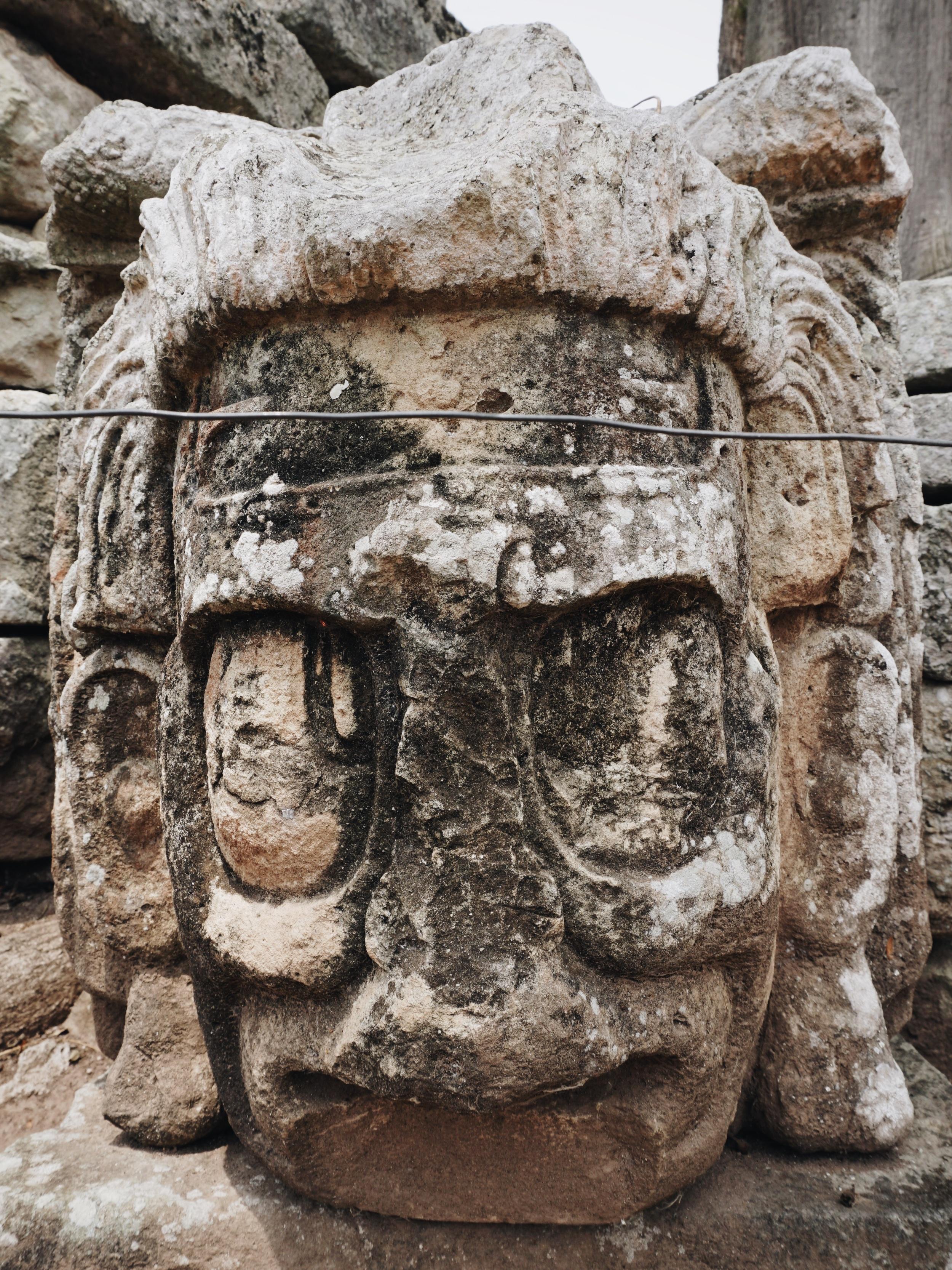 Die Maya Ruinen in Copán.