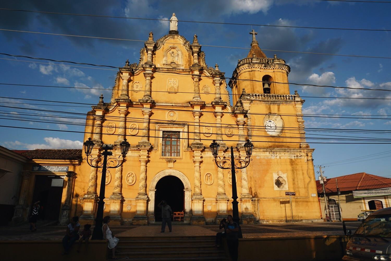 Iglesia La Merced, León.