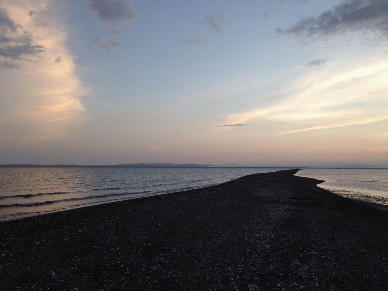 Sonnenuntergang am Punta Jesus Maria.
