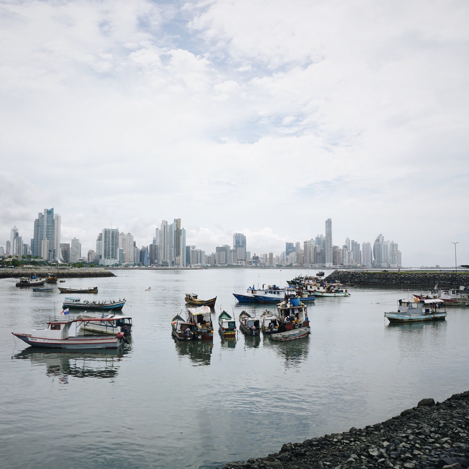 Skyline von Panama City.