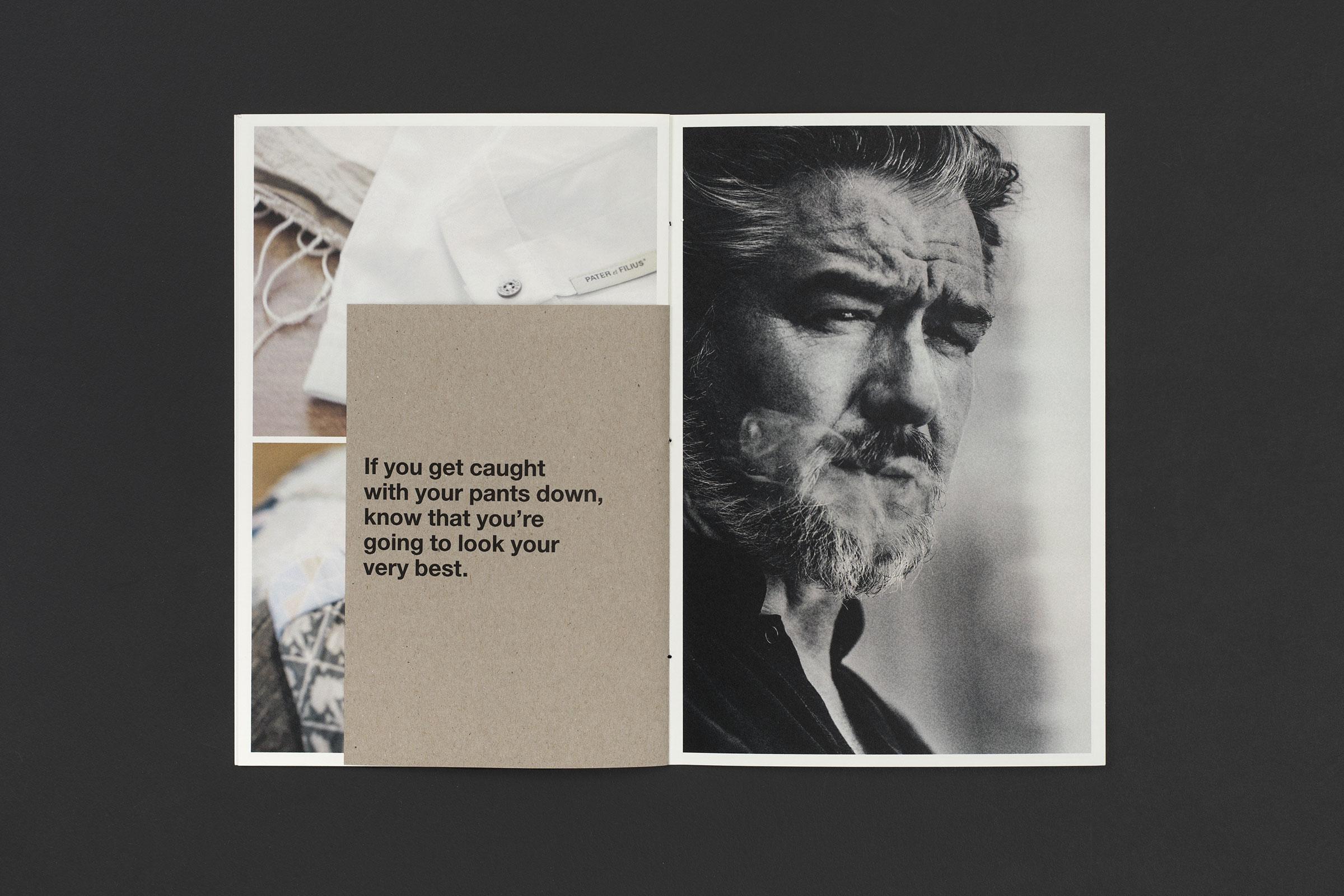 PATER et FILIUS. Image Brochure.