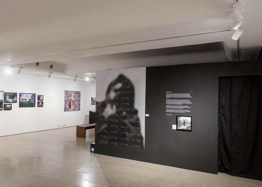 Exhibition: IN VISIBLE @ PIX, Nepal Issue. Goethe Institut, Mumbai, India 2017.