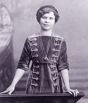 Alma Theresia Pihl, one of the most talented designers employed by  Fabergé   .