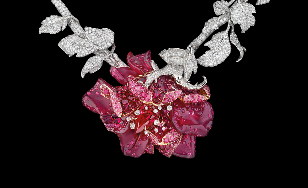 Le Bal de Rose necklace by Dior, inspired by Christian Dior's favourite flower, the rose.