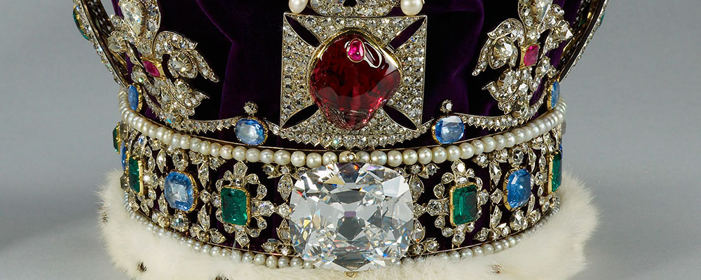 The Black Prince's Ruby is in fact the world's most famous spinel.  It is set in the Imperial State Crown.
