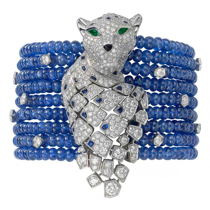 A contemporary panther bracelet by Cartier. Jeanne Toussaint's legacy lives on.