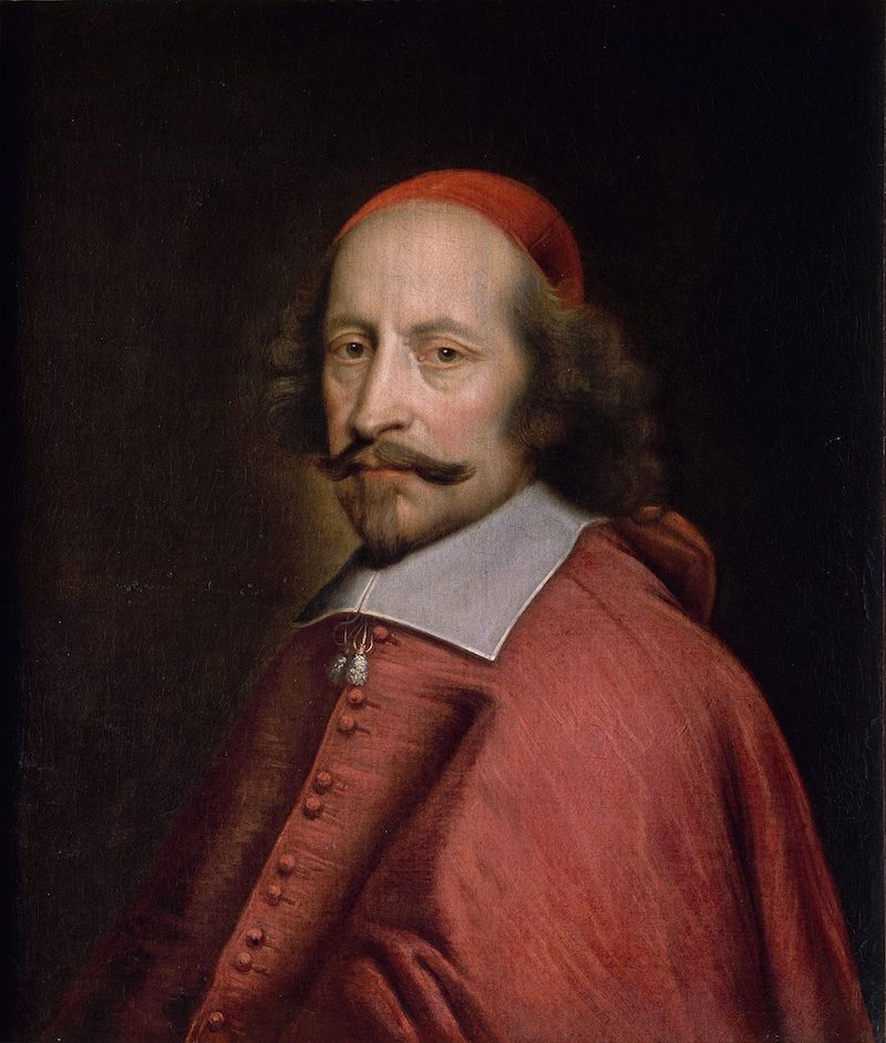 Cardinal Mazarin, who assembled a fabled collection of diamonds and bequeathed them to the French Crown.