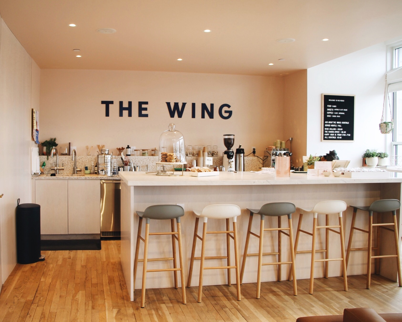 Photography: The Wing Café