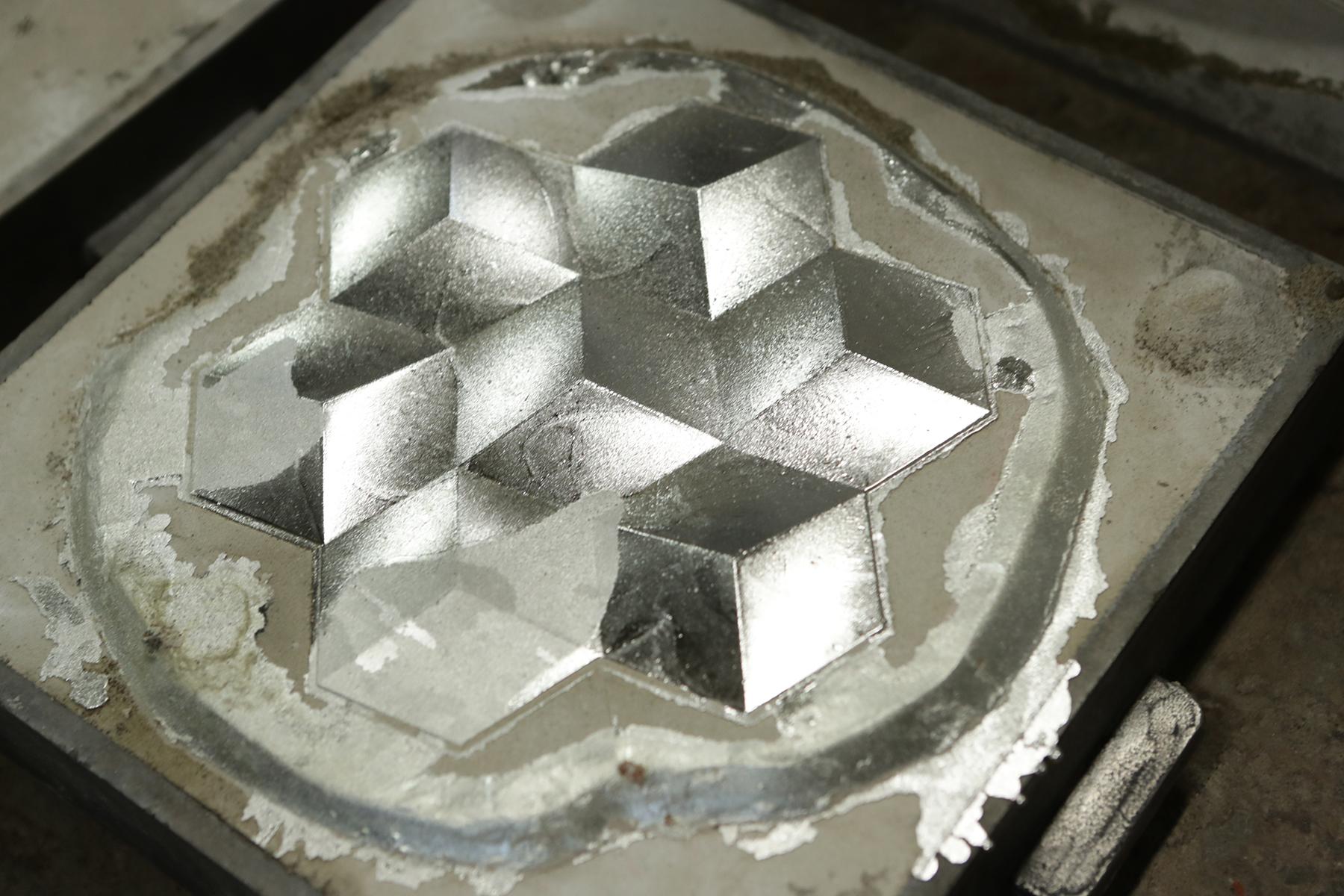 取出的Snowflakes試做粗胚。
