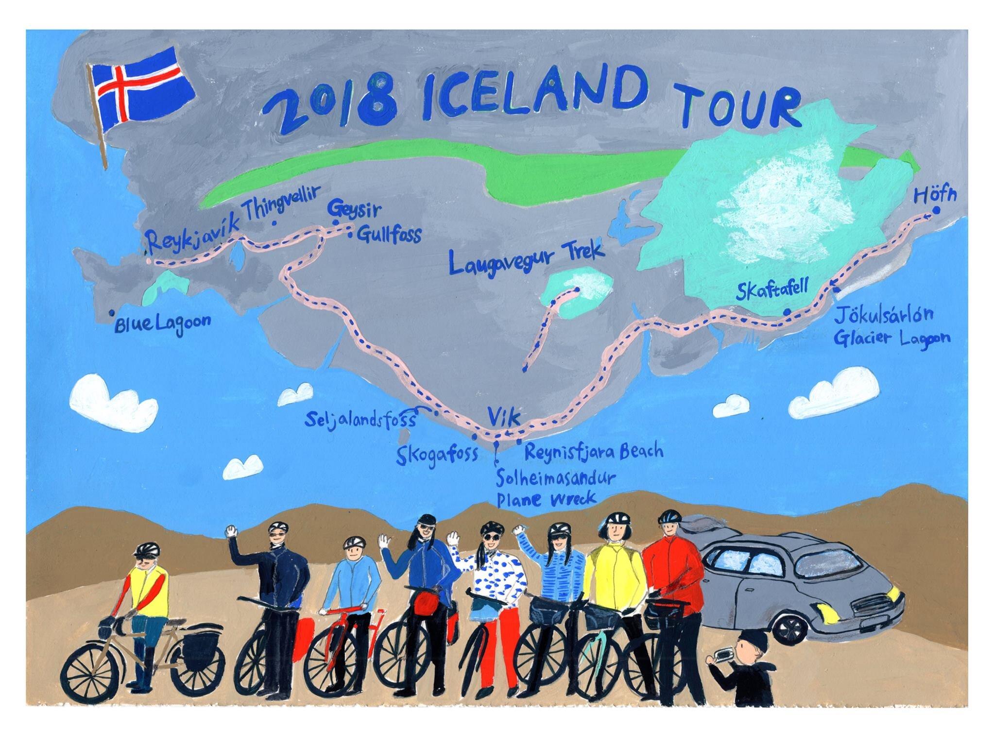 Jessie x Alashi Cycling Illustration以插畫紀錄騎單車旅行世界各地的樣貌 l 誠品R79小誌市集.jpg