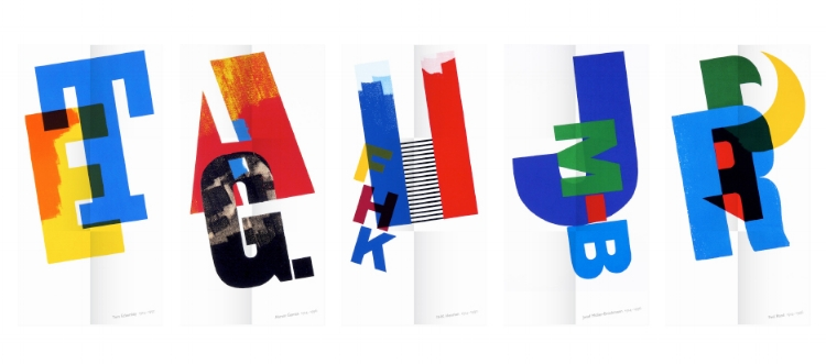 The final monographs by alan kitching / monotype