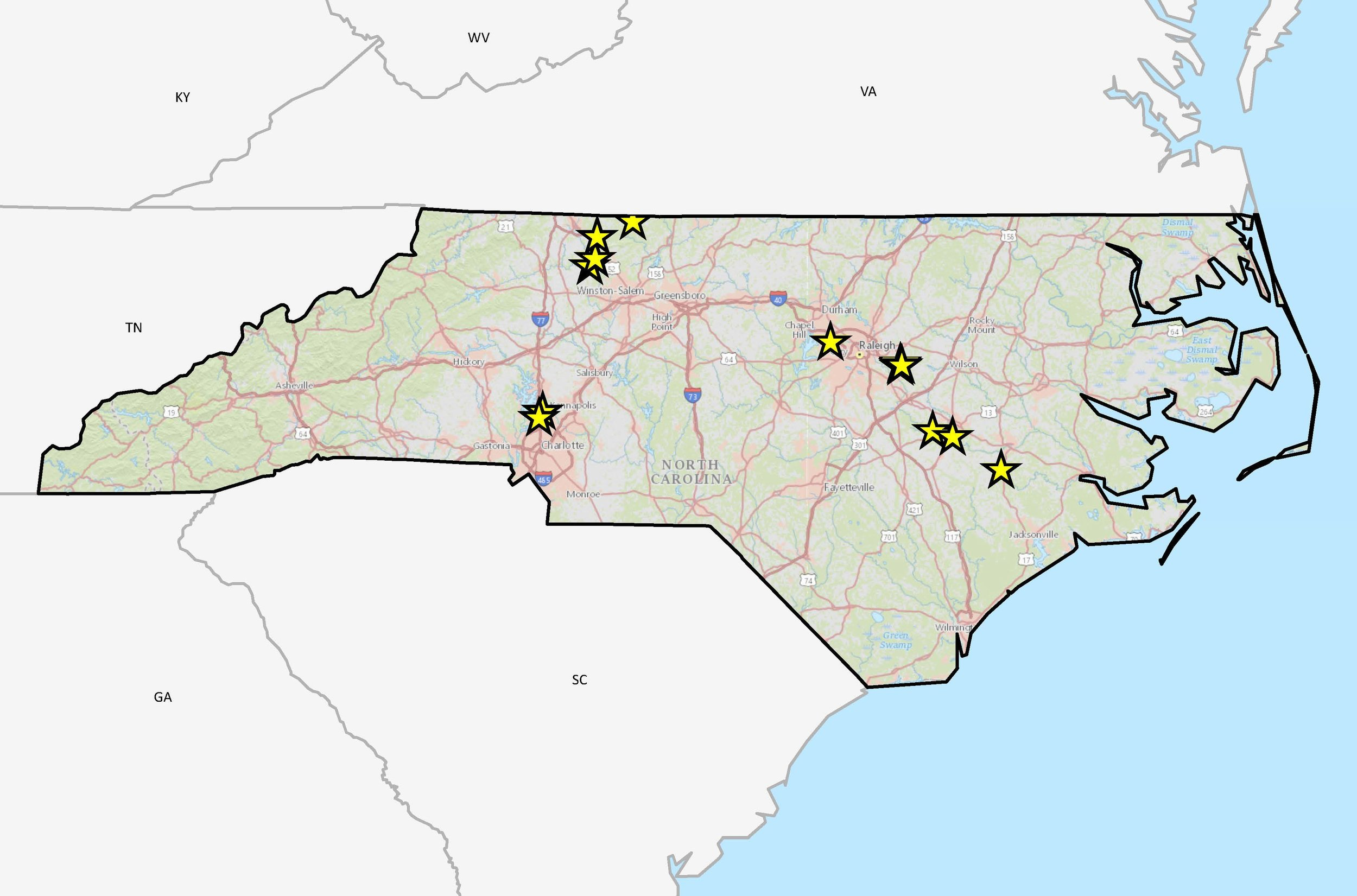North Carolina Projects