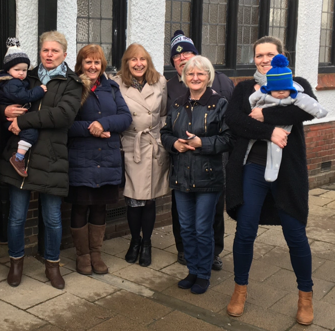 Some of our congregation were able to join other folk from Littleport to encourage the Children in Need Rickshaw Challenge team on their King's Lynn to Cambridge leg.