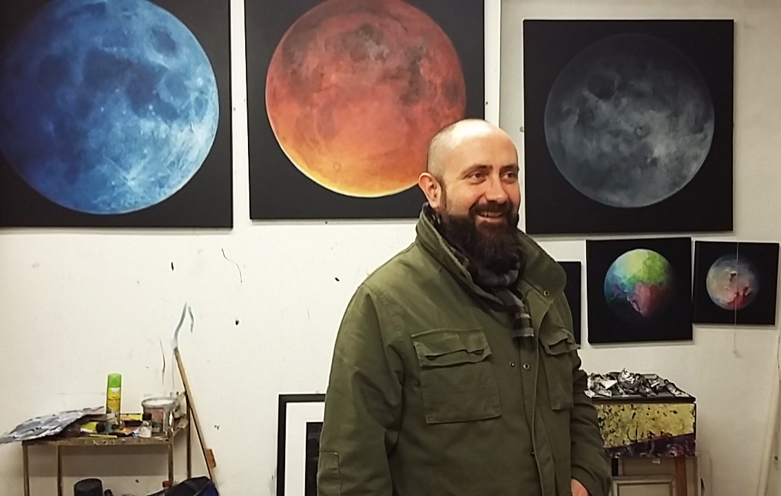 Artist Patrick O'Donnell