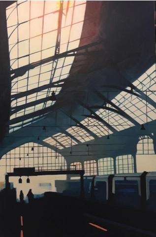 Morning Commute - Martin Varennes-Cooke