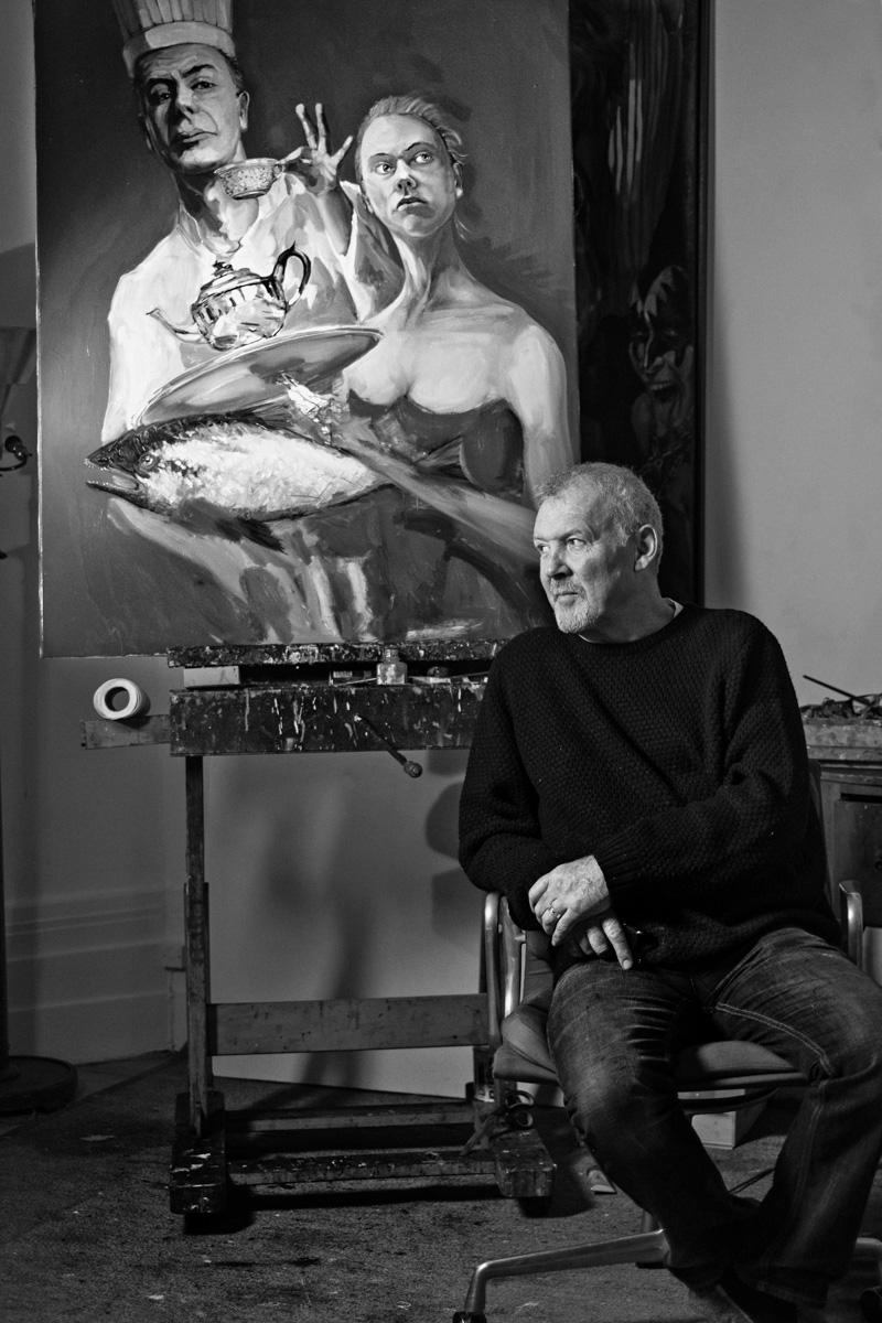 Artist Gerard Byrne - Photograph by  Andrew Roach
