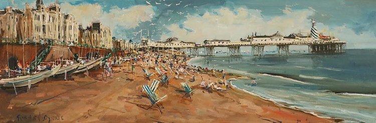 Brighton Beach - Gerard Byrne