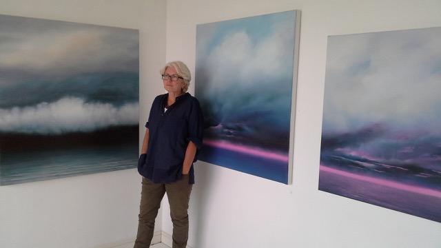 Artist Susan Evans