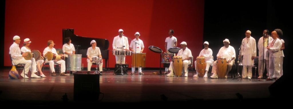"The Musicians Concert performance of Vladimir Espinoza's performance of ""Rhum-Bata"", American Dance Festival, Duke University, 2013"