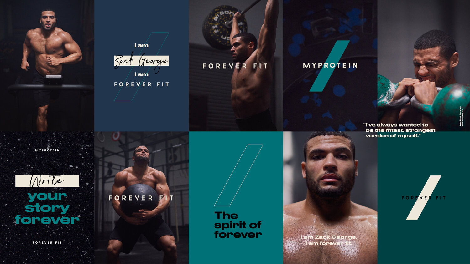 Myprotein - Forever Fit — Industry Creative Co.