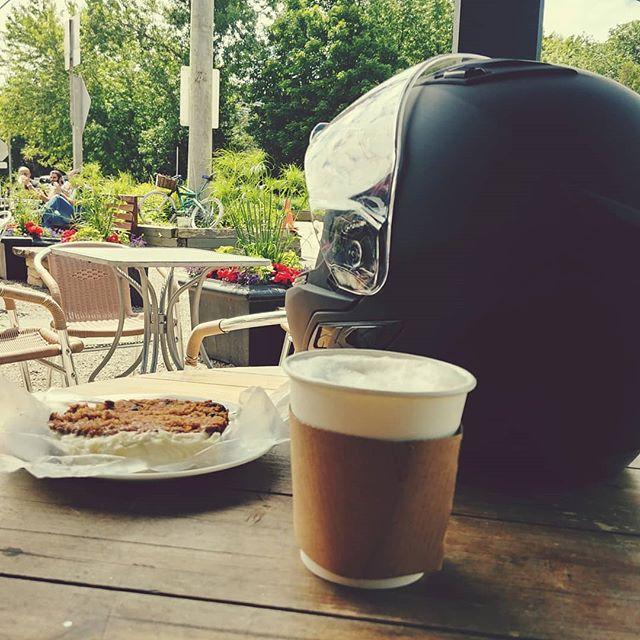 #ride #motorcyclelife #belfountain #highergroundcafe #simplelife #luisfernandodiez