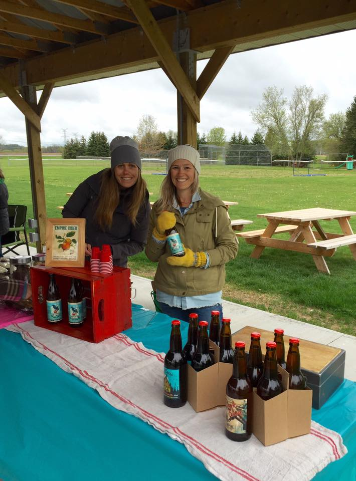 A cold but successful start to the Codrington Farmer's Market season