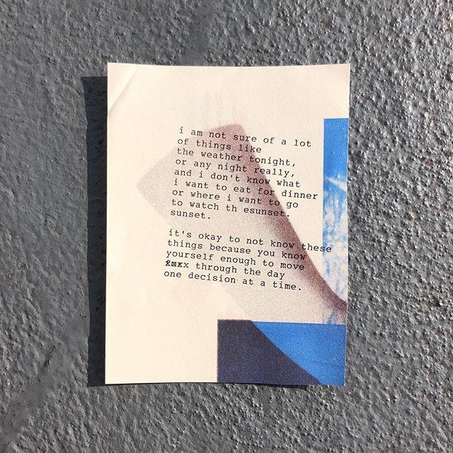 idk, wbu? . . . #poetry #instapoetry #typewriter #writerscommunity