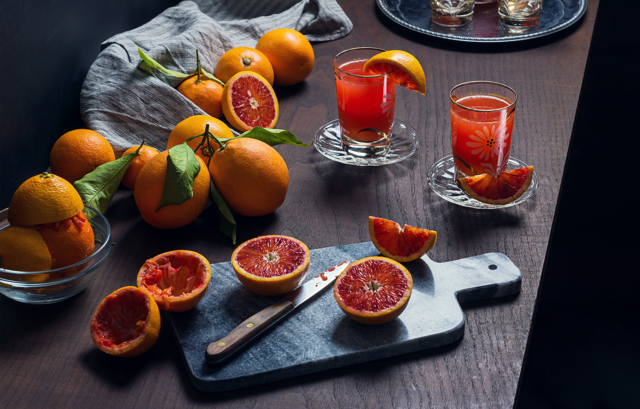 Freshly Squeezed Blood Orange Juice