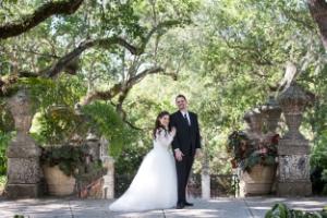 MIAMI WEDDING |MARIA & JUAN  AS SEEN IN THE KNOT.COM