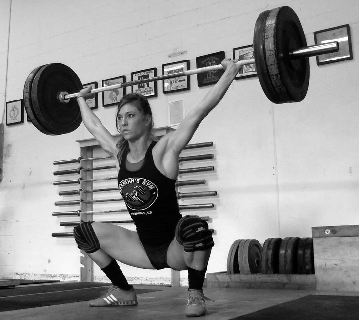 An Overhead Squat