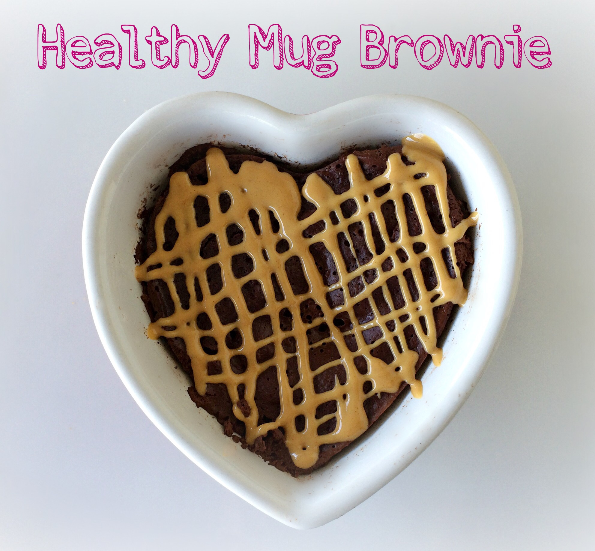 HEALTHY CHOCOLATE MUG BROWNIE