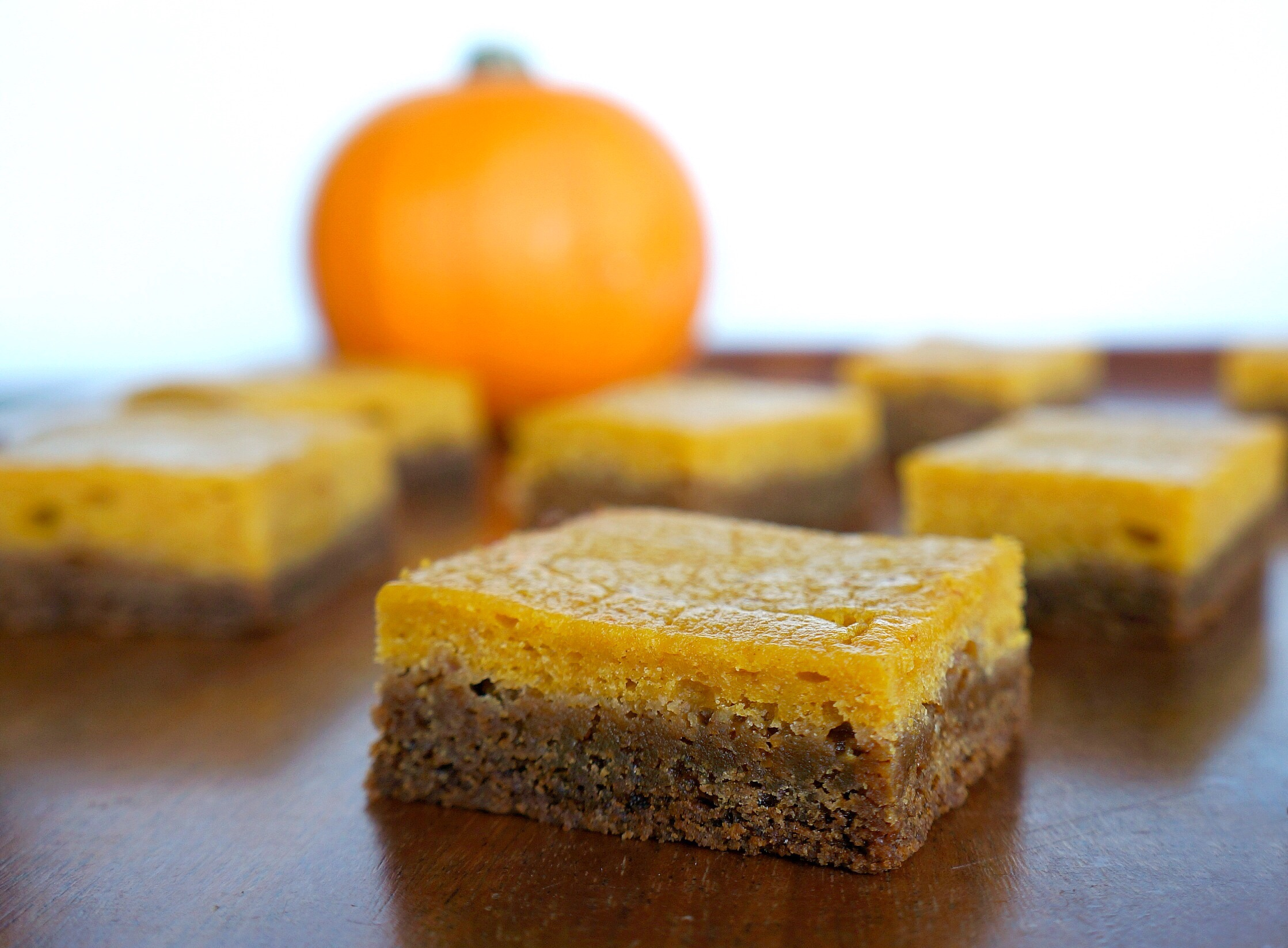 PUMPKIN MOLASSES BARS