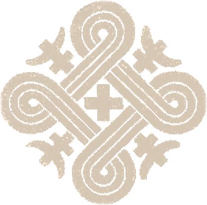 Käpälikkö symboloi vastakohtaisuuksien periaatetta, neljää elementtiä ja kultaista keskitietä.  Kuvan lähde.
