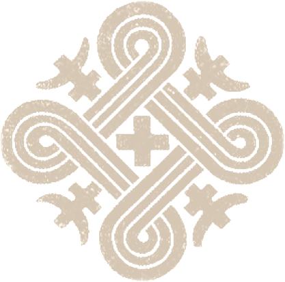 Käpälikkö eli Hannunvaakuna symboloi alkuharmoniaa, Sampoa.  Kuvan lähde.